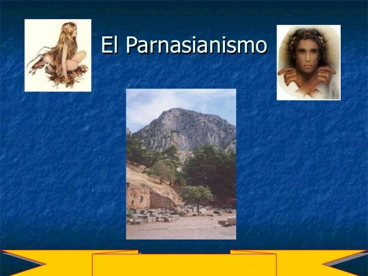El Parnasianismo