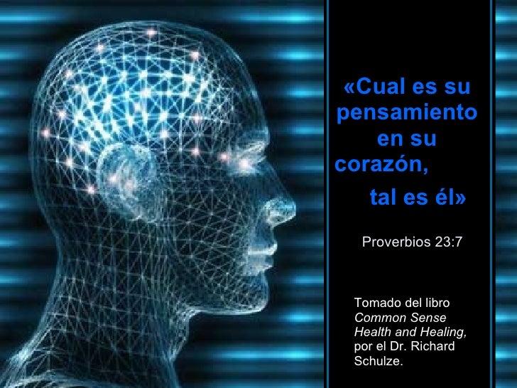 El Pensamiento Y La Salud