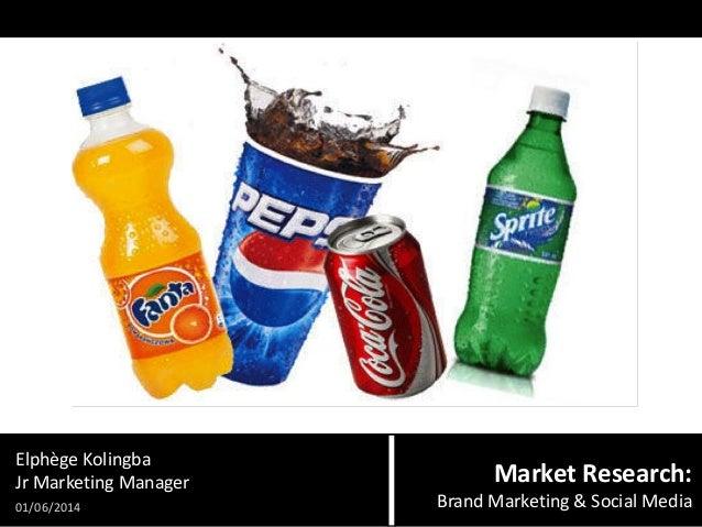 Elphège Kolingba Jr Marketing Manager 01/06/2014  Market Research: Brand Marketing & Social Media