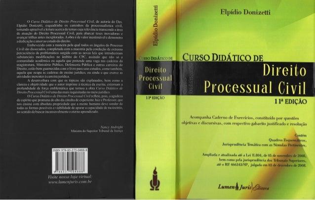 elpidio donizetti proceso civil pdf