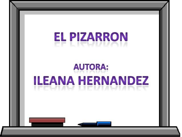 IMPORTANCIA DEL PIZARRON• PERMITE LA CREACION DE IDEAS A TRAVES DE DIBUJOSIDEOGENESICOS• MEJORA LA COMPRESION A TRAVES DE ...
