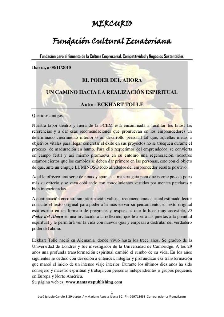 MERCURIO            Fundación Cultural Ecuatoriana    Fundación para el fomento de la Cultura Empresarial, Competitividad ...
