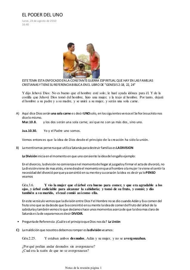 ESTETEMA ESTA ENFOCADOEN LA CONSTANTEGUERRA ESPIRITUAL QUE HAY EN LASFAMILIAS CRISTIANASYTIENESU REFERENCIA BIBLICA EN EL ...