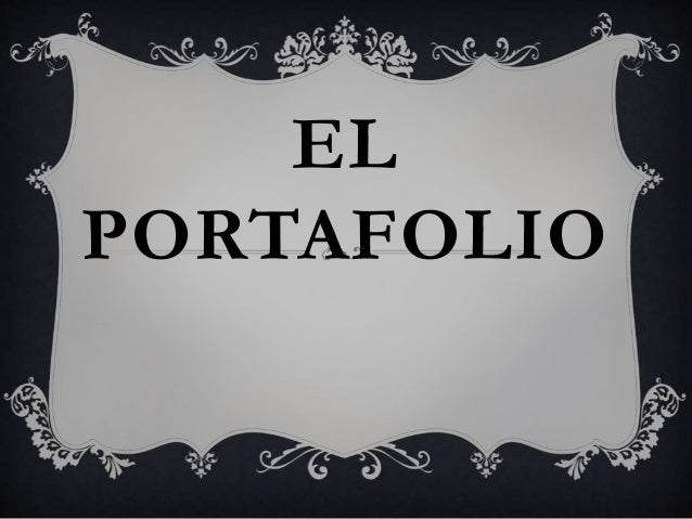 EL PORTAFOLIO