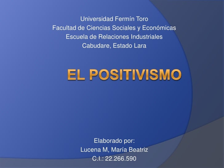 Universidad Fermín ToroFacultad de Ciencias Sociales y Económicas    Escuela de Relaciones Industriales          Cabudare,...