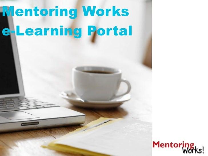 Mentoring Workse-Learning Portal