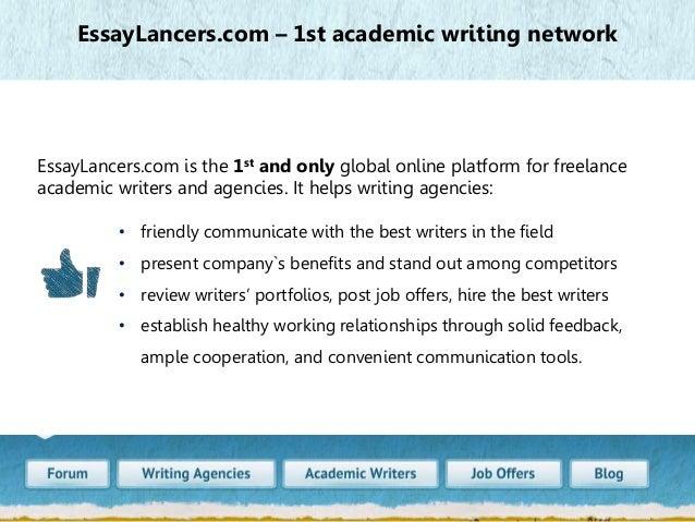 Writing agencies