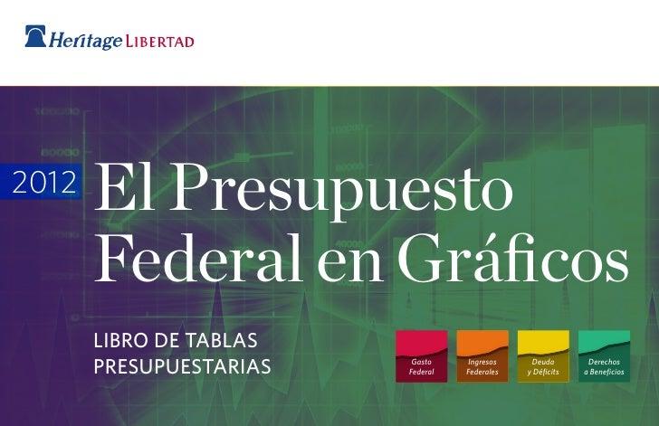 El Presupuesto Federal en Gráficos (2012)
