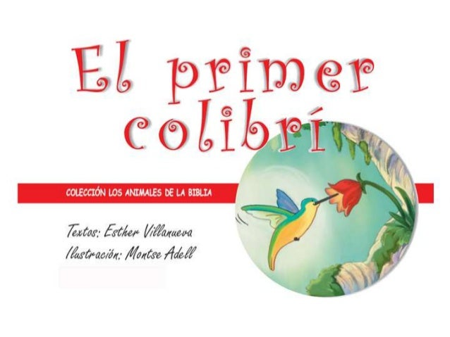 El primer colibri