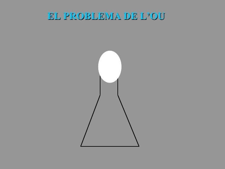 EL PROBLEMA DE L'OU