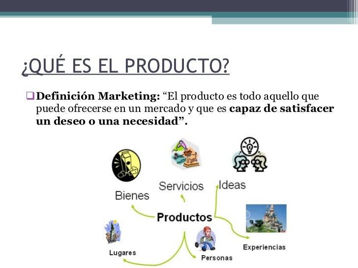 El producto y sus atributos - Descripcion del producto ...