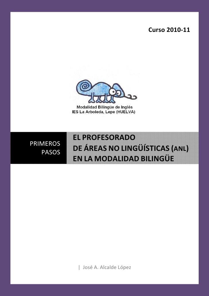 El profesorado de ANL en la modalidad bilingüe