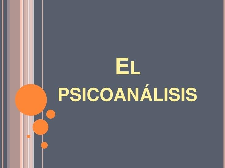 ELPSICOANÁLISIS