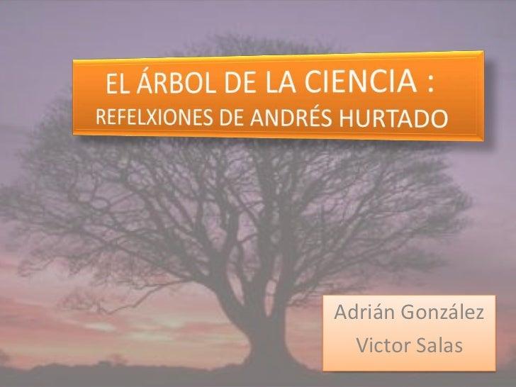 Adrián González  Victor Salas