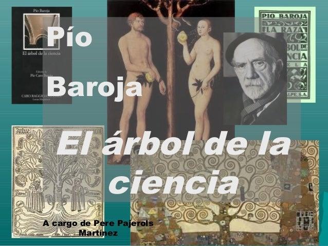 El rbol de la ciencia de p o baroja for El arbol de la ciencia