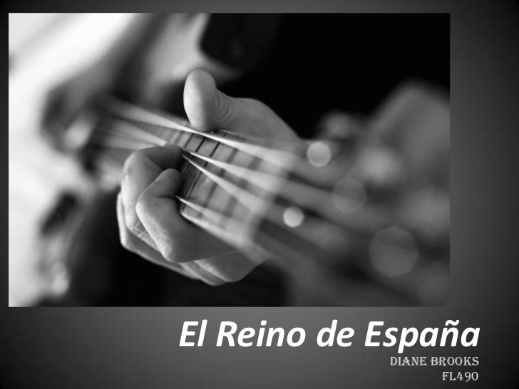 El Reino de España<br />Diane Brooks<br />FL490<br />