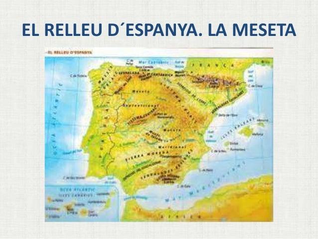 EL RELLEU D´ESPANYA. LA MESETA