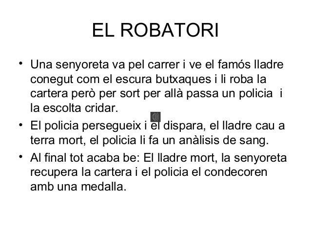 El robatori