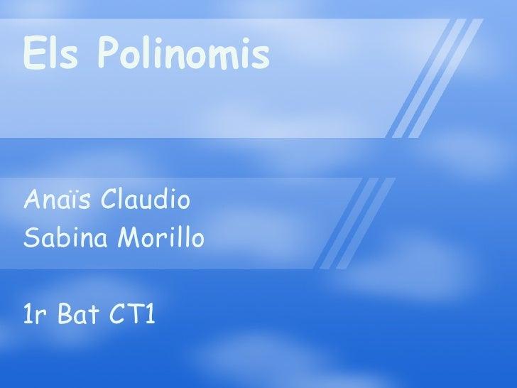 Els polinomis
