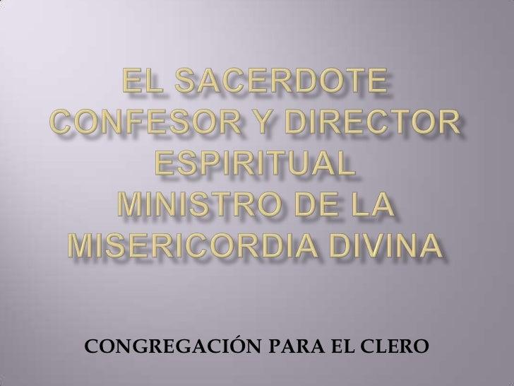 CONGREGACIÓN PARA EL CLERO