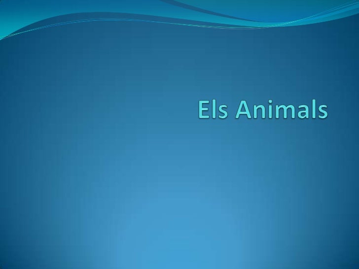 ElsAnimals<br />