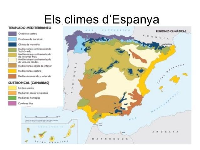 Els climes d'Espanya