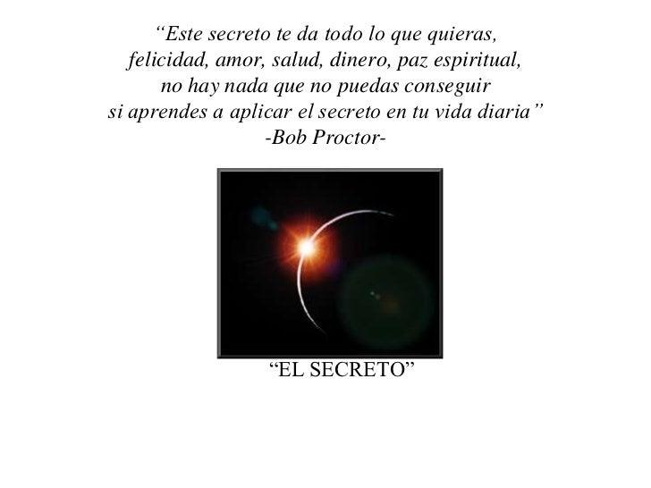 El secreto-