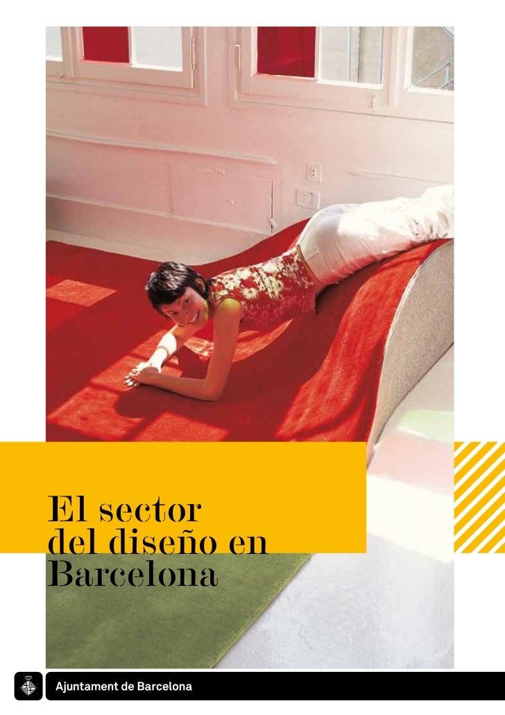 El sector del diseño en Barcelona
