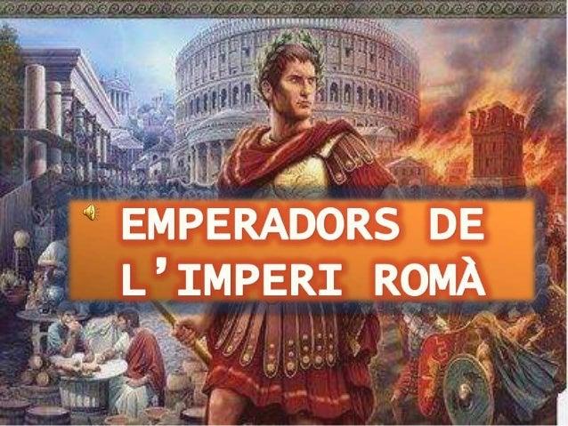 Els emperadors romans