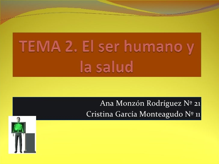 Ana Monzón Rodríguez Nº 21 Cristina García Monteagudo Nº 11