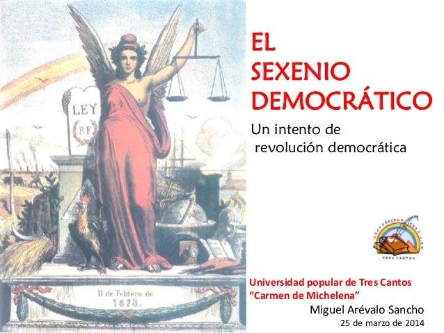 El sexenio democrático-revolucionario: La Primera República española