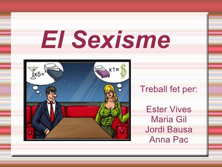 El Sexisme3