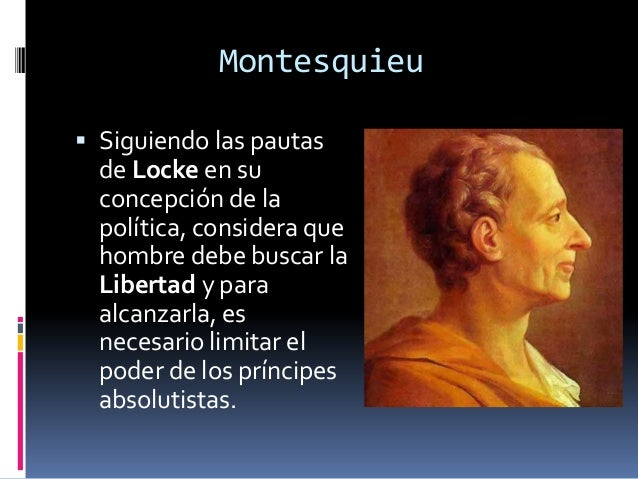 comparing john locke and baron de montesquieu John locke at wikipedia  charles-louis des secondat baron de montesquieu   of labor this natural state was finished, there are differences in property, power .