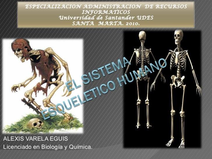 ALEXIS VARELA EGUIS Licenciado en Biología y Química. ESPECIALIZACION ADMINISTRACION  DE RECURSOS INFORMATICOS Universidad...