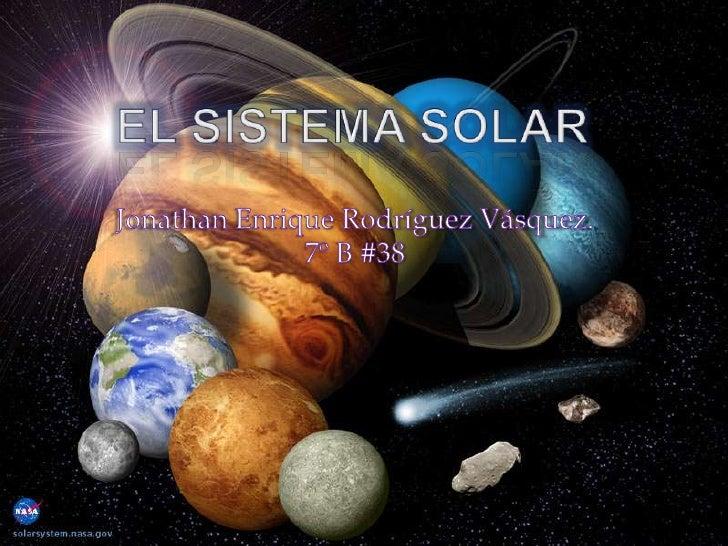    Generalidades Del Sistema Solar   Ley De Gravitación Universal   Características Principales De Los Planetas   Saté...