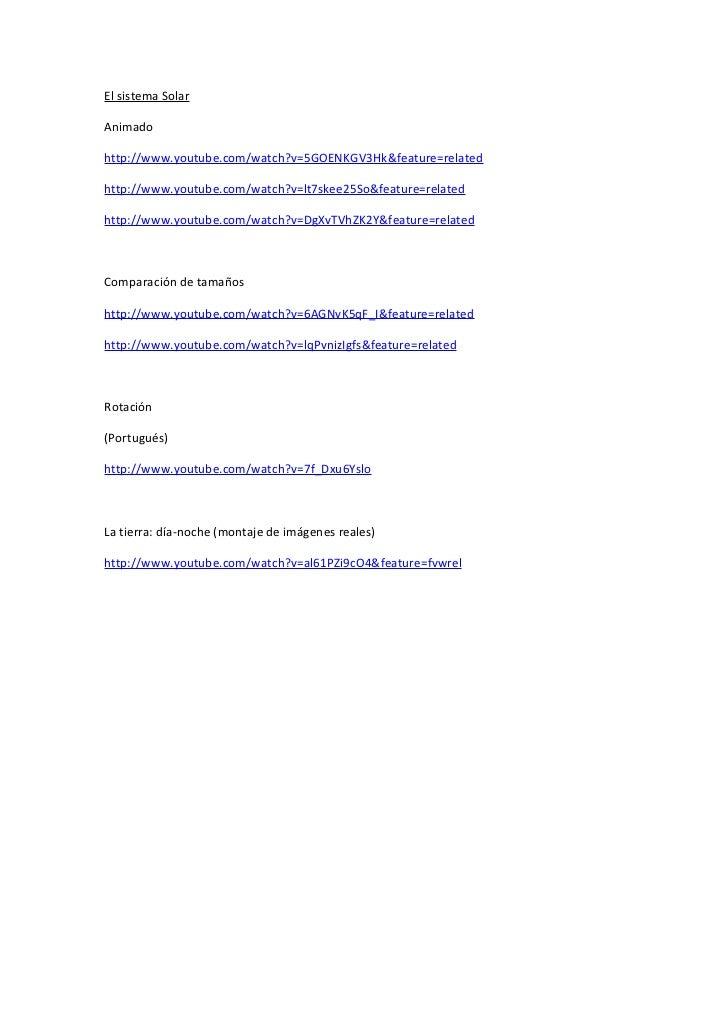 El sistema SolarAnimadohttp://www.youtube.com/watch?v=5GOENKGV3Hk&feature=relatedhttp://www.youtube.com/watch?v=lt7skee25S...