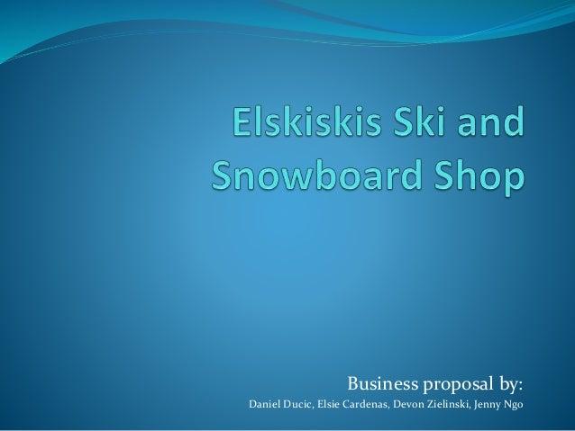 Elskiskis ski and snowboard shop