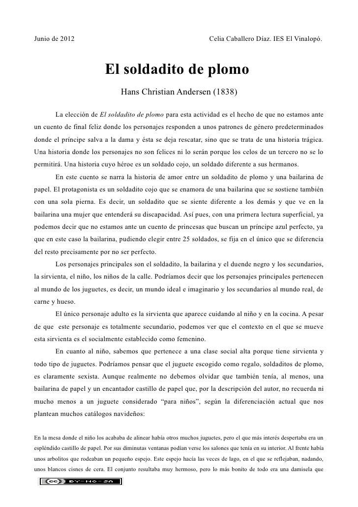 Junio de 2012                                                             Celia Caballero Díaz. IES El Vinalopó.          ...