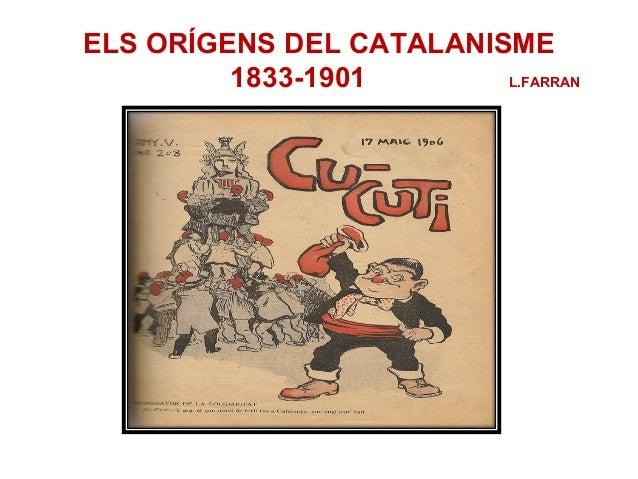 Els orígens del catalanisme