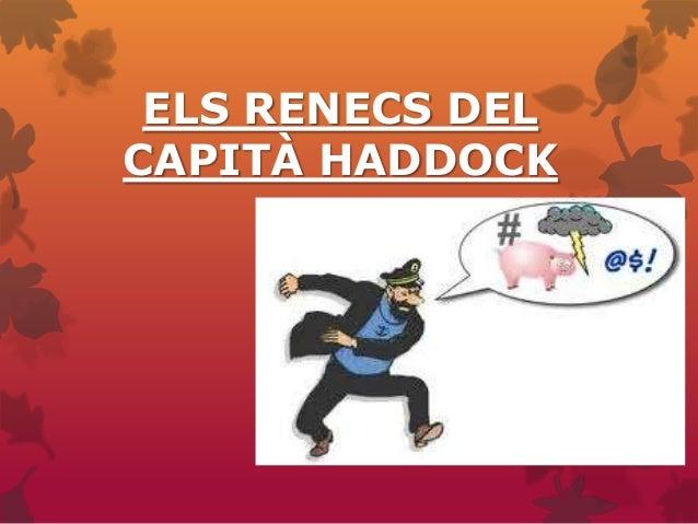 Els renecs del capità haddock