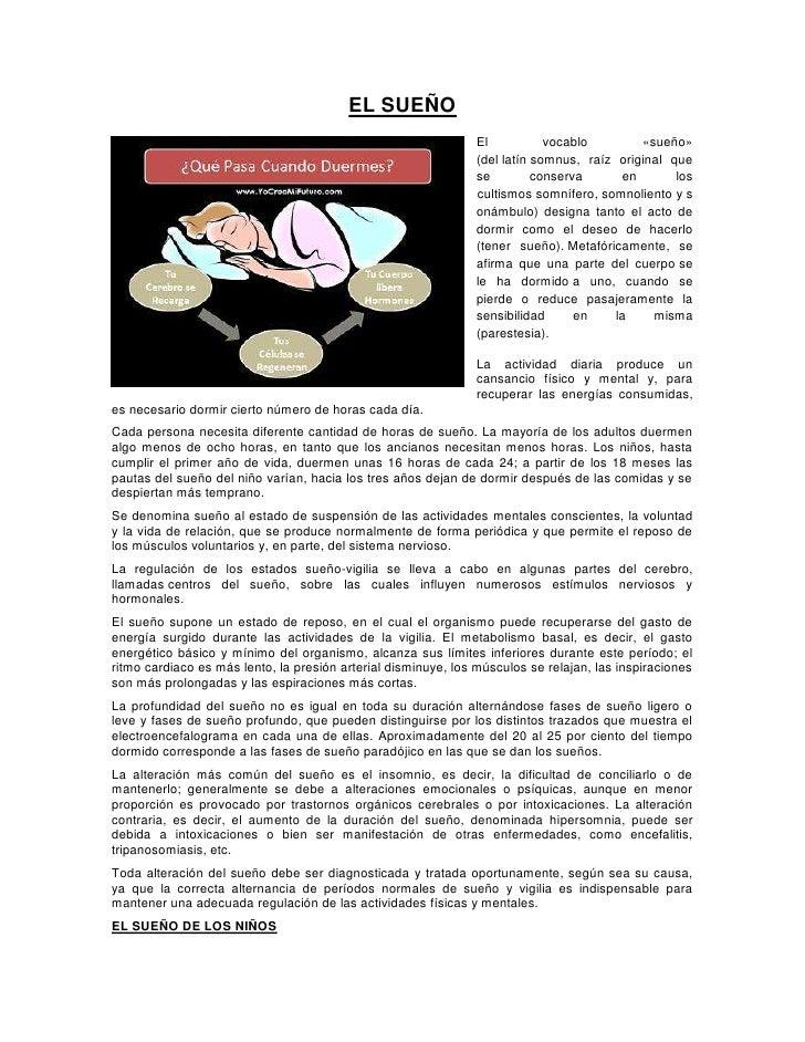 EL SUEÑO                                                                El           vocablo        «sueño»               ...