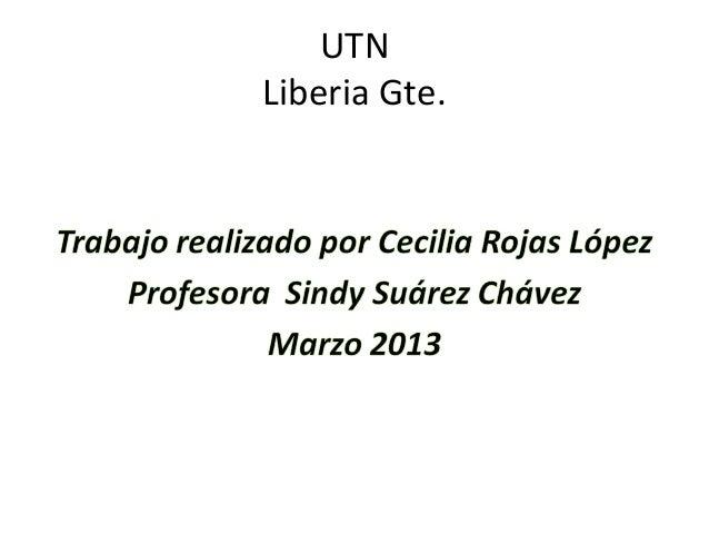 UTNLiberia Gte.