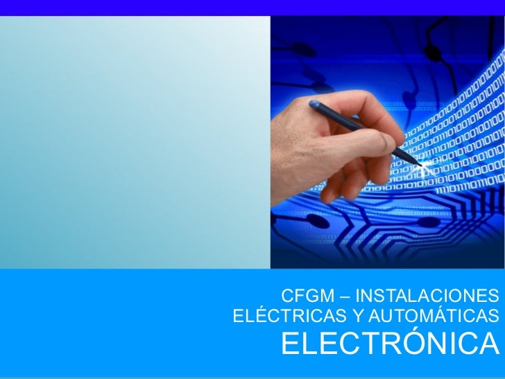 Electrónica: circuitos combinacionales