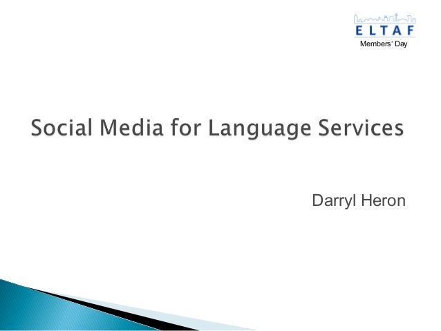 ELTAF- Social Media 2012 11-24