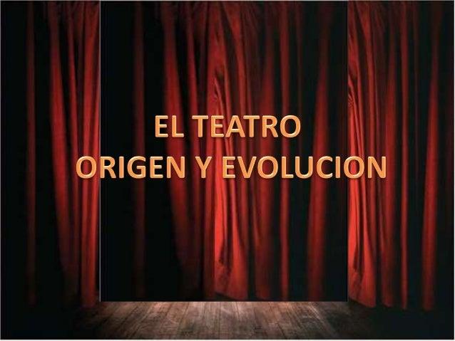 ¿Qué es el teatro? El teatro es un género literario, ya sea en prosa o en verso, normalmente dialogado, CONCEBIDO PARA SER...