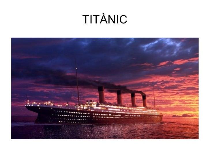 L'enfonsament del Titànic