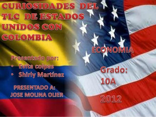el campo colombiano no se encuentra totalmente industrializadopara poder competir contra los productos agropecuarios deEst...