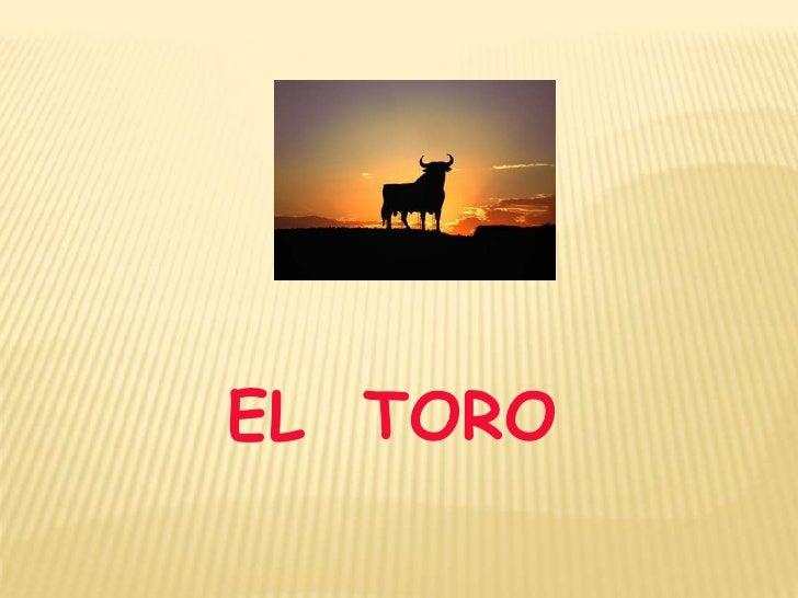 EL  TORO<br />