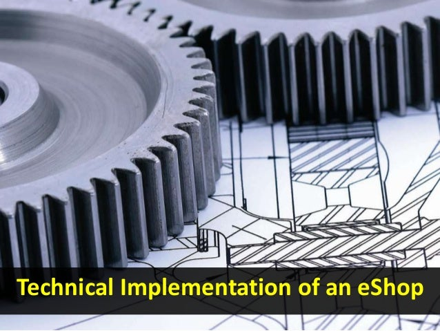 Technical Implementation of an eShop