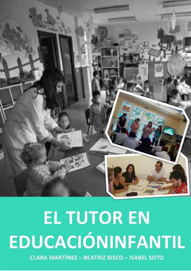El tutor en educación infantil (final)